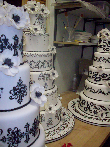 cake boss wedding cakes. Viewing the process of making the cake in the Cake